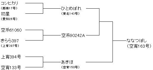 北海道米 ななつぼし系譜